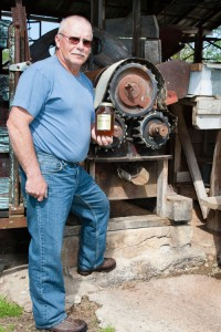Terry Hughes of Olin Hughes Sorghum Syrup Mill